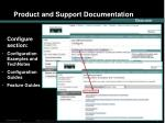 product and support documentation12