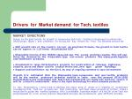 drivers for market demand for tech textiles