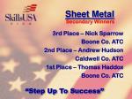 sheet metal128