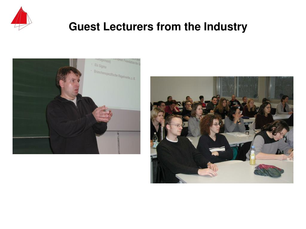 Guest Lecturers from the Industry