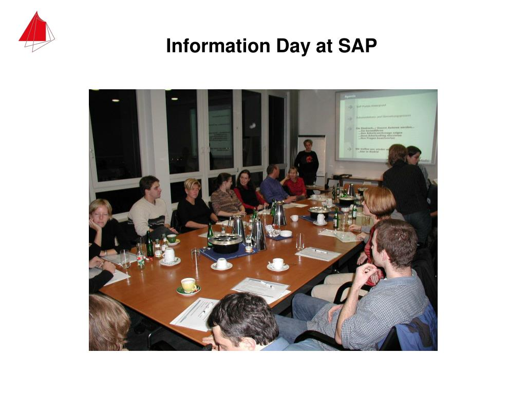 Information Day at SAP