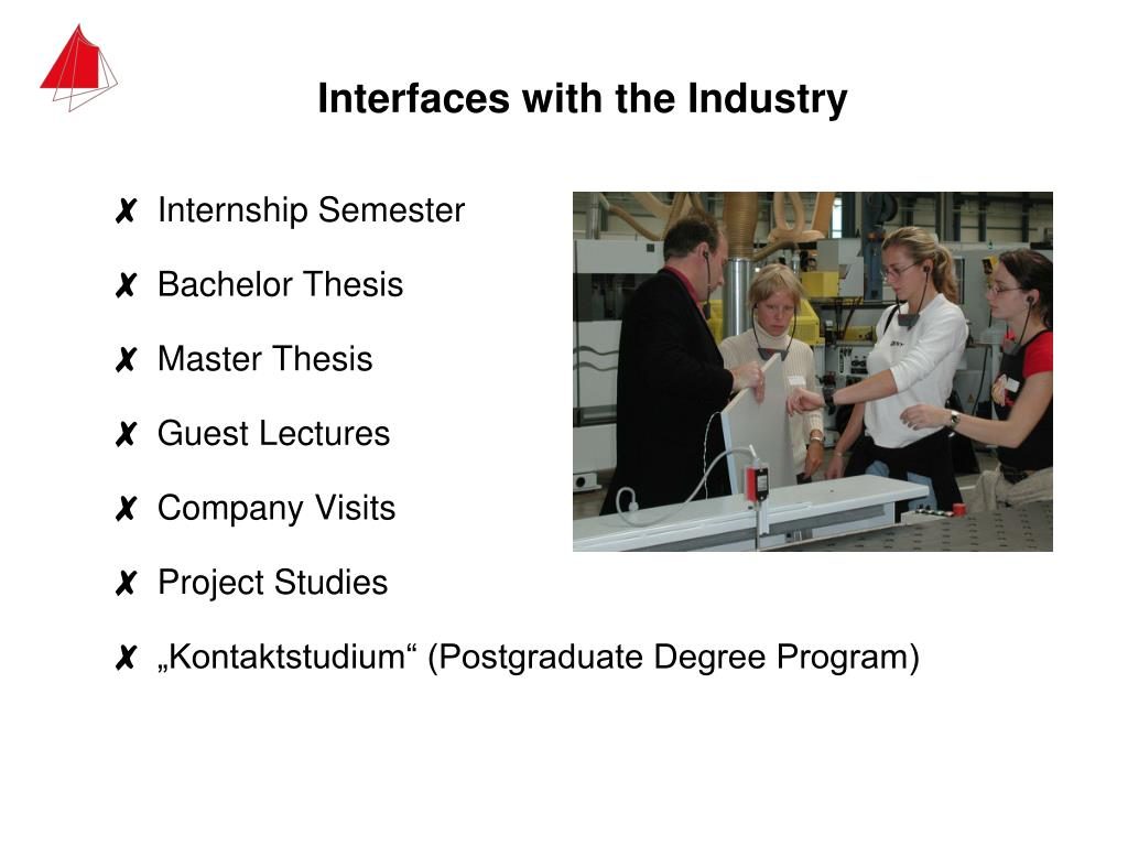 Interfaces with the Industry