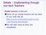 details implementing through non tech teachers32