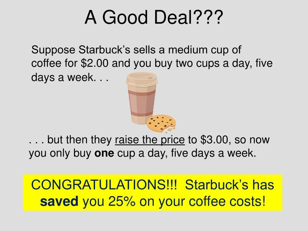 A Good Deal???