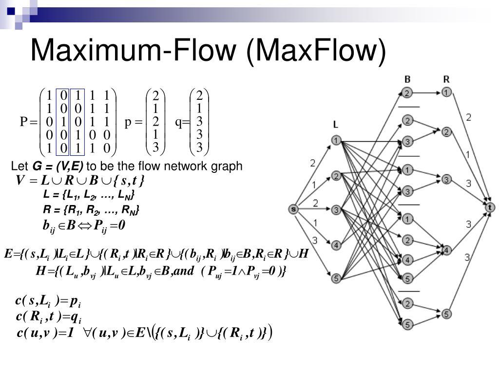 Maximum-Flow (MaxFlow)