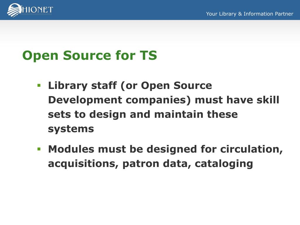 Open Source for TS