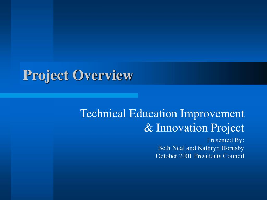 project overview l.