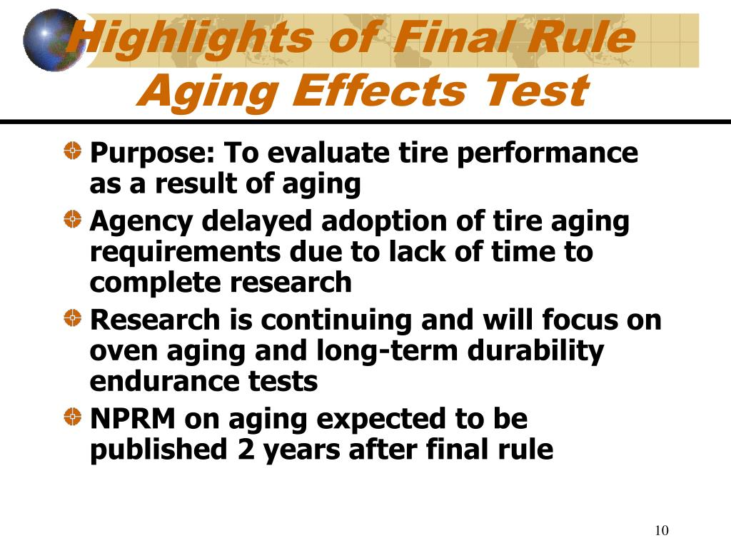Highlights of Final Rule