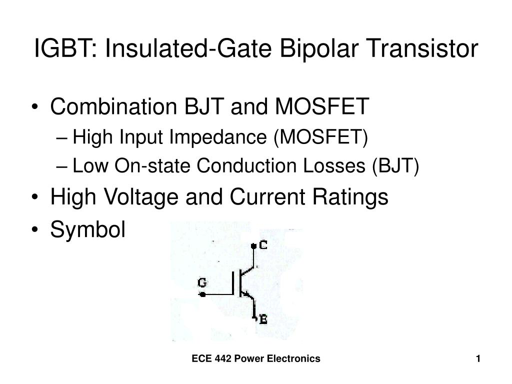 Ppt igbt insulated gate bipolar transistor powerpoint ppt igbt insulated gate bipolar transistor powerpoint presentation id745419 buycottarizona Image collections