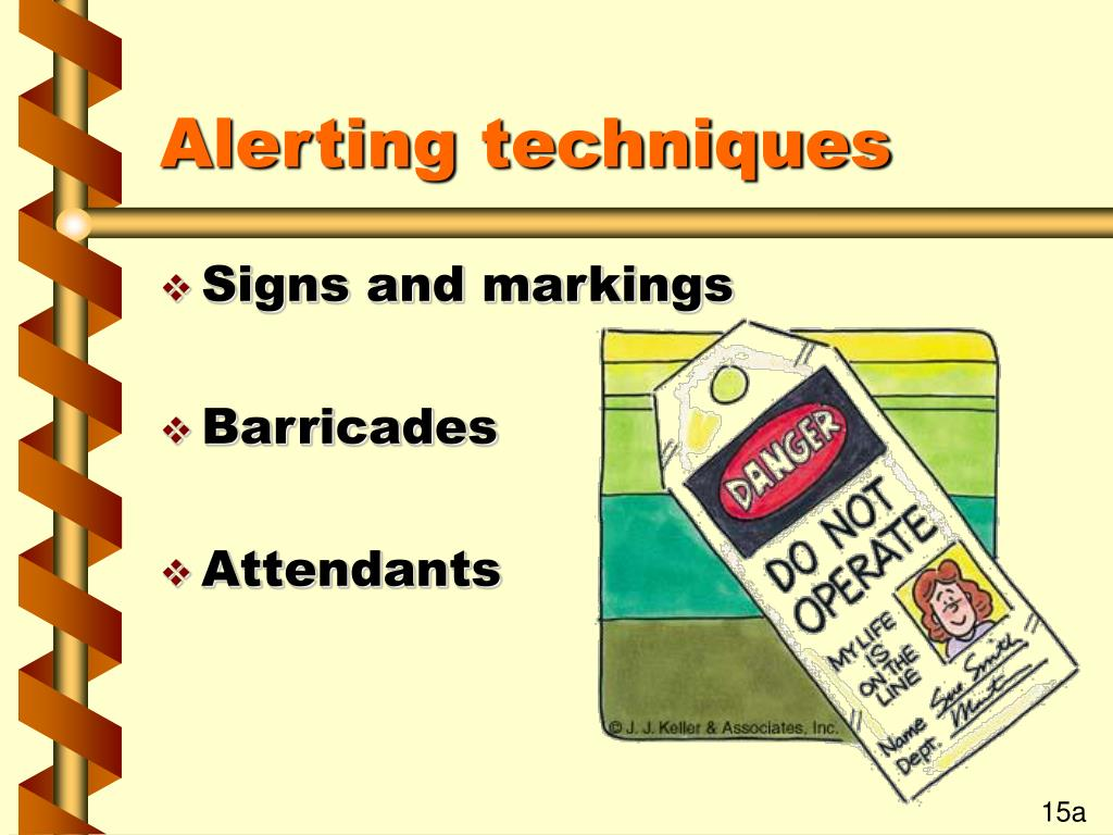Alerting techniques