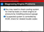 diagnosing engine problems49