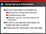using service information38