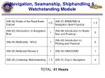navigation seamanship shiphandling watchstanding module15