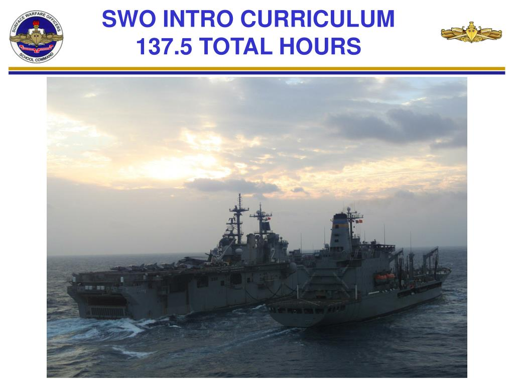 swo intro curriculum 137 5 total hours l.