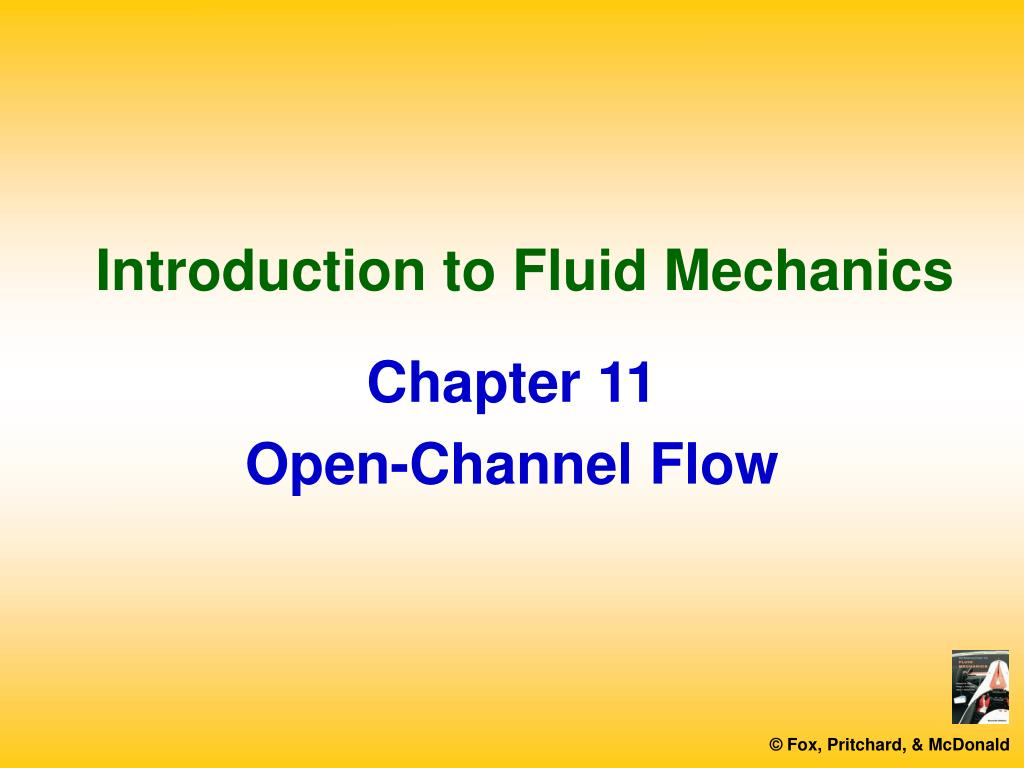 introduction to fluid mechanics l.