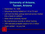 university of arizona tucson arizona