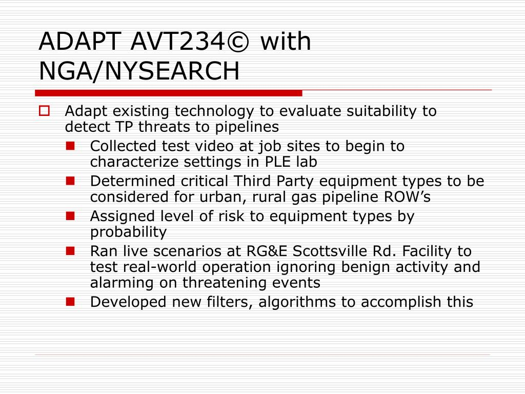 ADAPT AVT234© with NGA/NYSEARCH