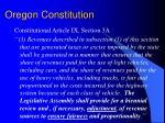 oregon constitution