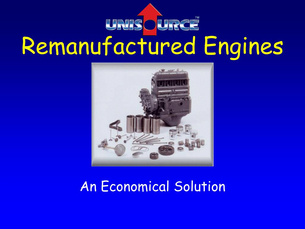 remanufactured engines l.