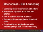 mechanical ball launching13