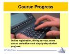 course progress13