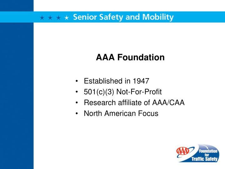 Aaa foundation