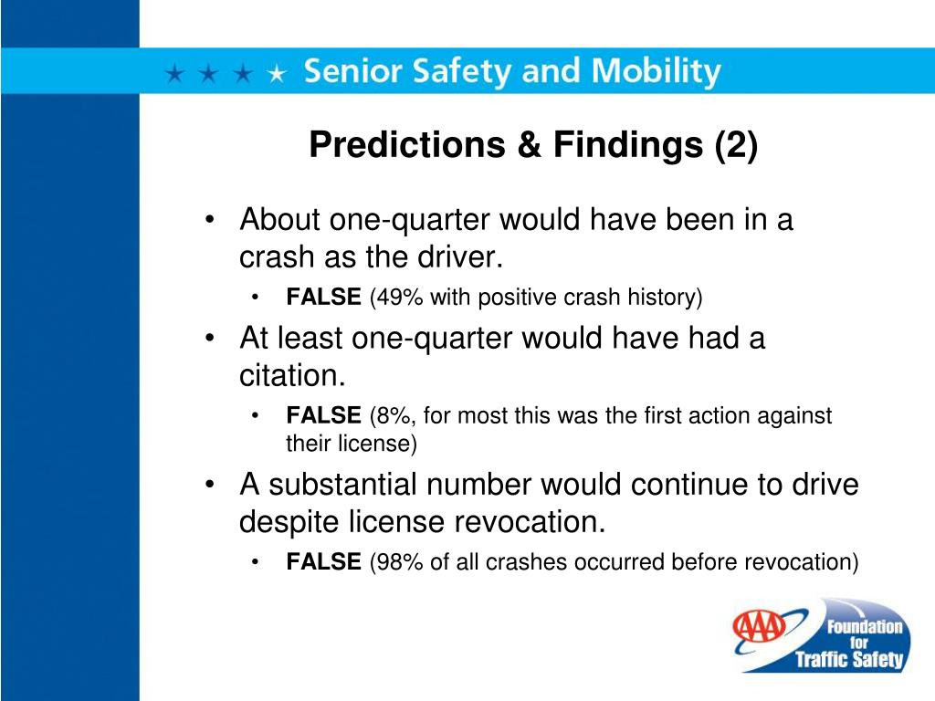 Predictions & Findings (2)
