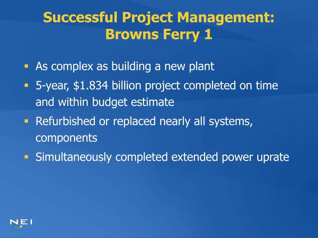 Successful Project Management: