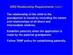 grg relationship requirements cont34
