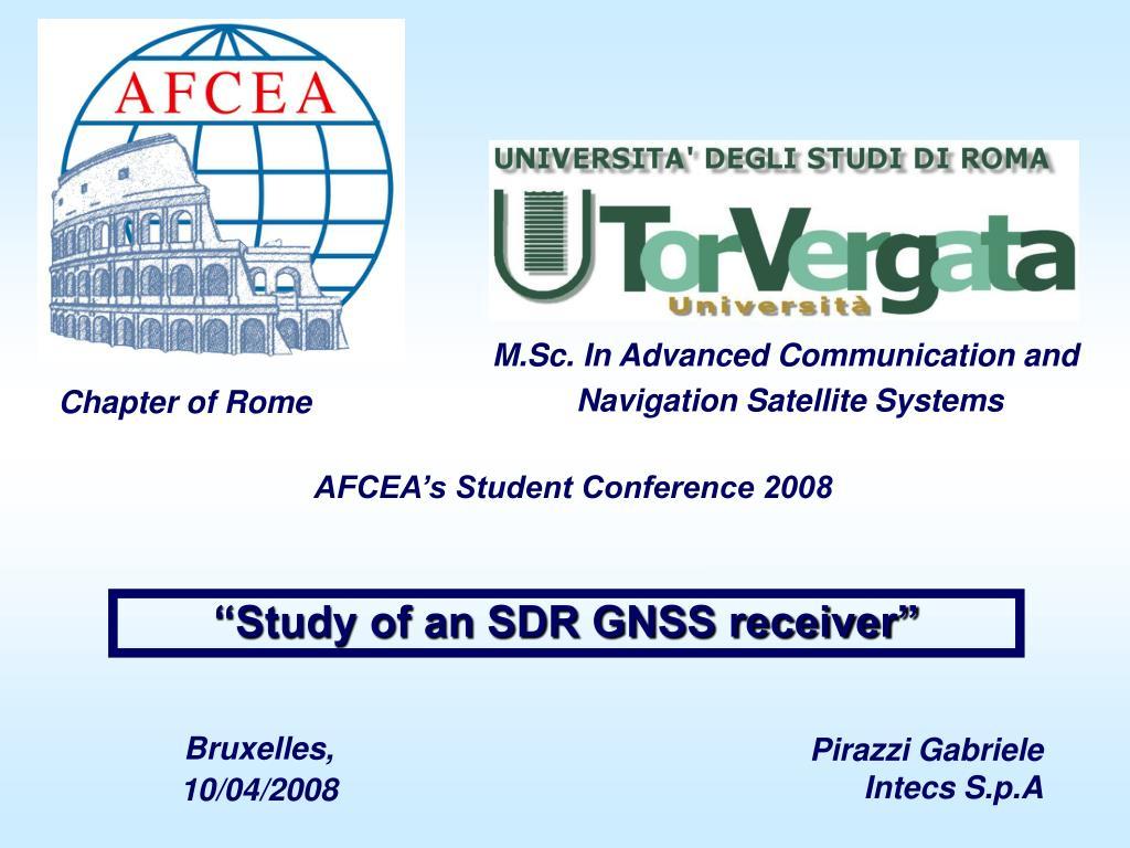 PPT - Pirazzi Gabriele Intecs S p A PowerPoint Presentation - ID:746133