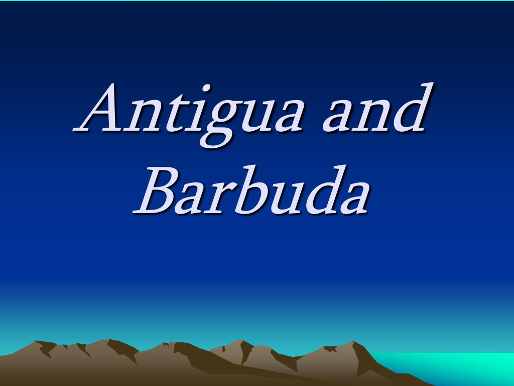 antigua and barbuda l.