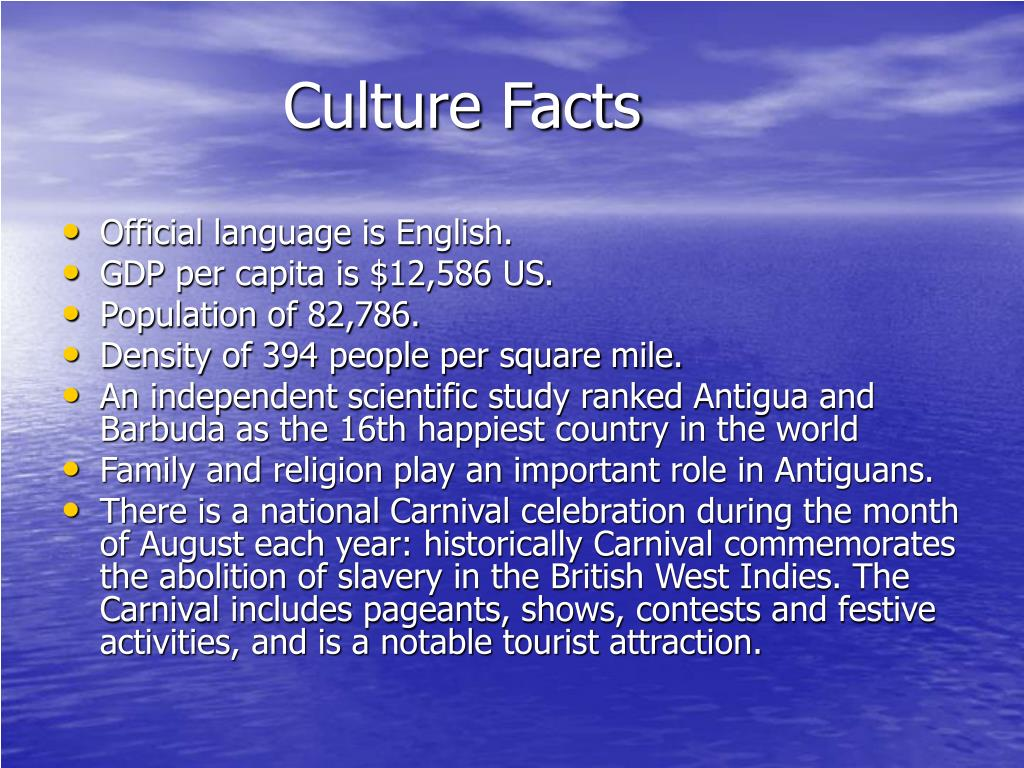 Culture Facts