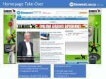homepage take over