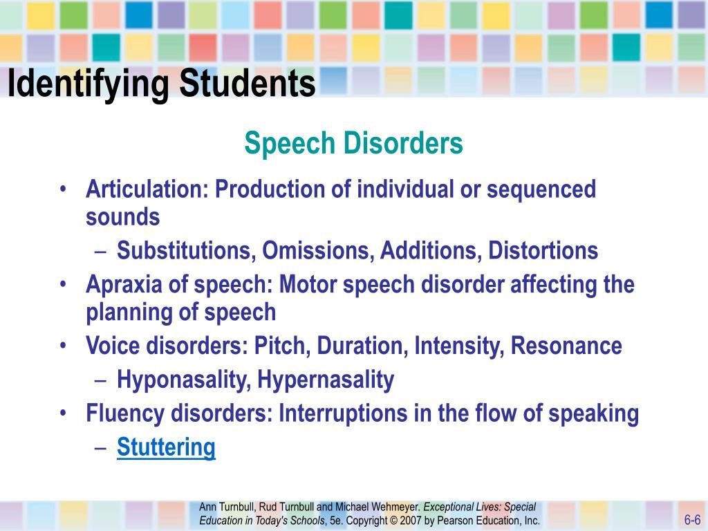 stuttering a speech disorder