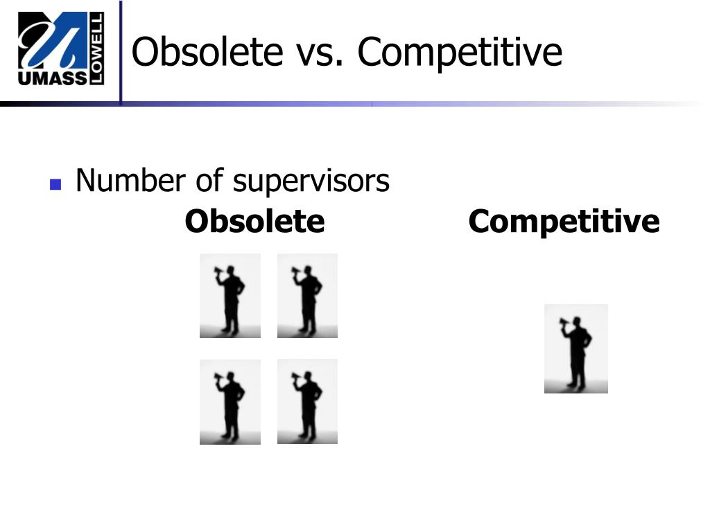 Obsolete vs. Competitive