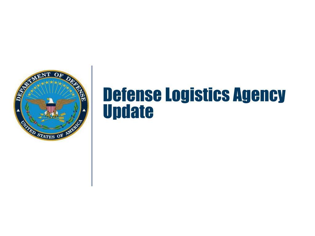 Defense Logistics Agency Update