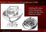 kepler s mysterium cosmographicum 1596