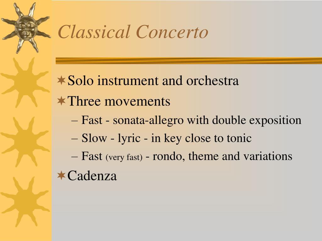 classical concerto l.