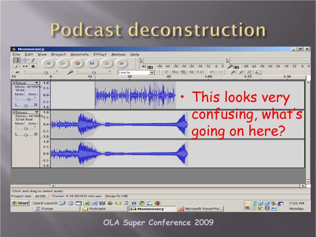 Podcast deconstruction