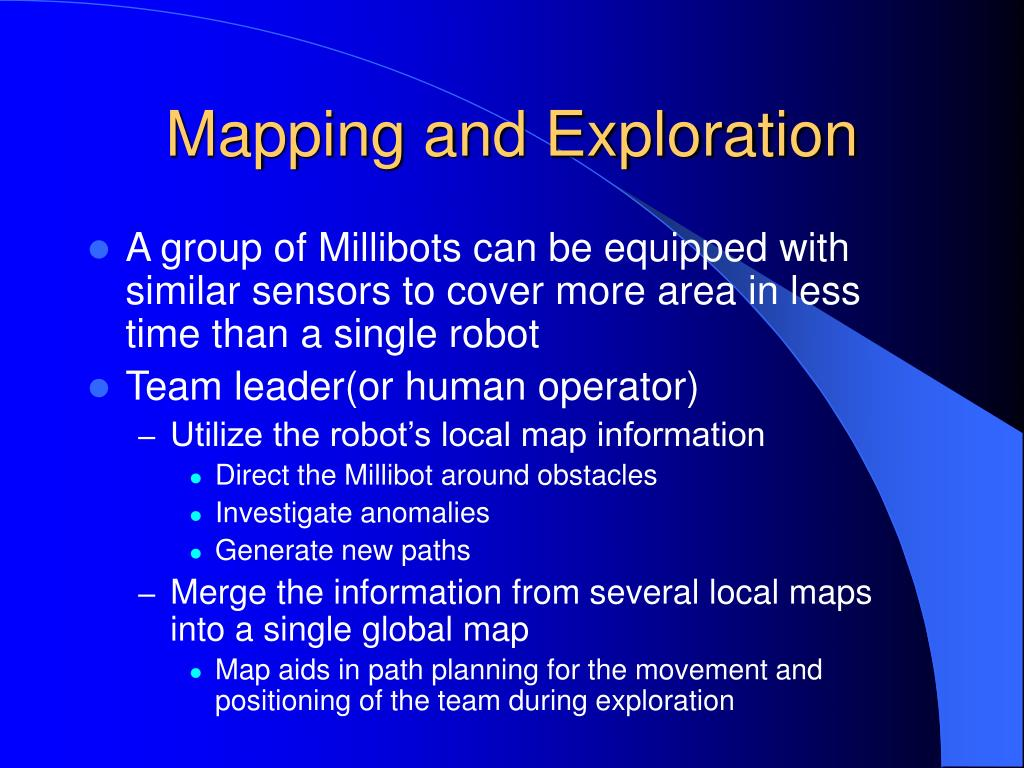 Mapping and Exploration