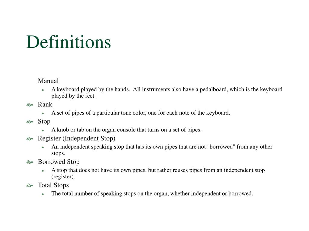 definitions l.