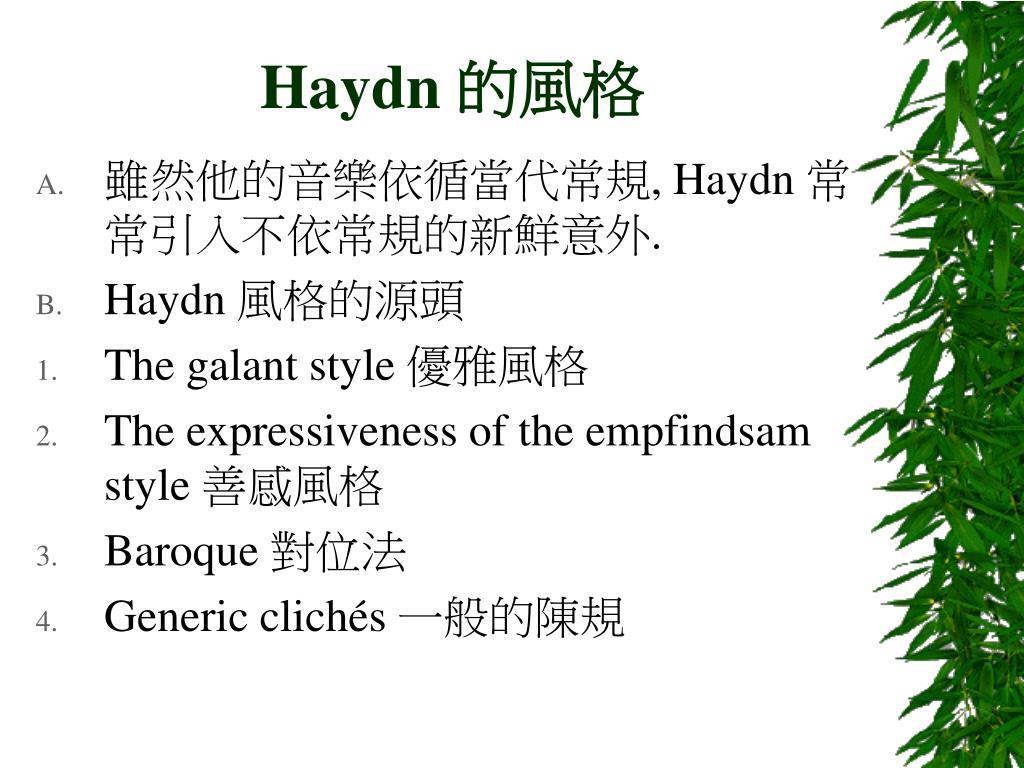 Haydn