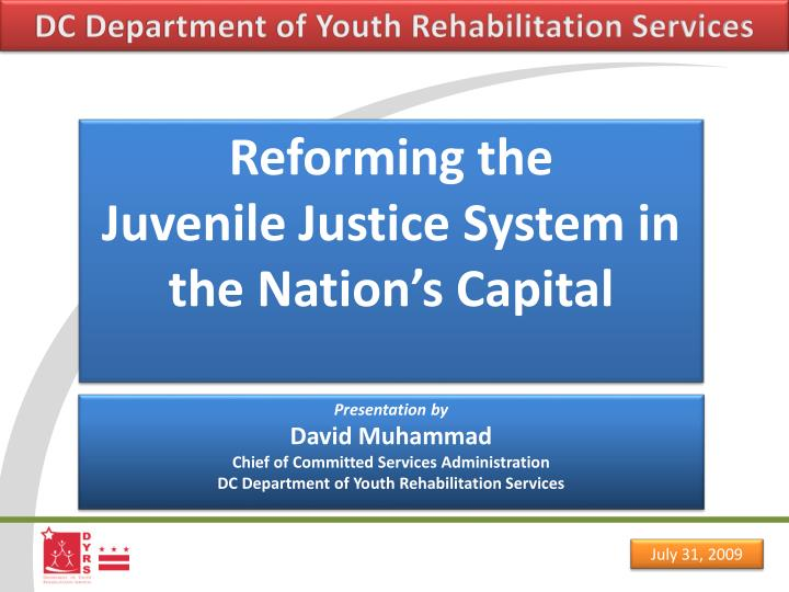 rehabilitation in juvenile justice Juvenile delinquency current issues, best particularly those children at risk who fall into the juvenile justice rehabilitation is a myth in juvenile.