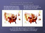 school count vs census count risk ratios nccrest data 03 04