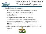 rec offsets generation transmission cooperatives