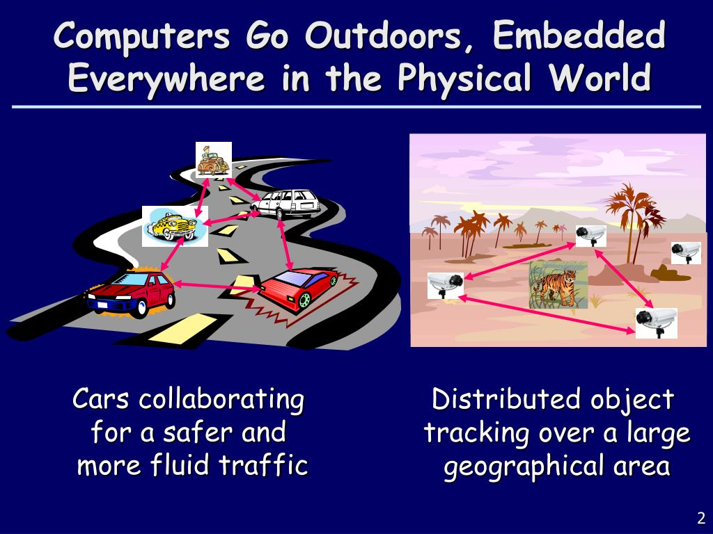 Computers Go Outdoors, Embedded Everywhere in the Physical World