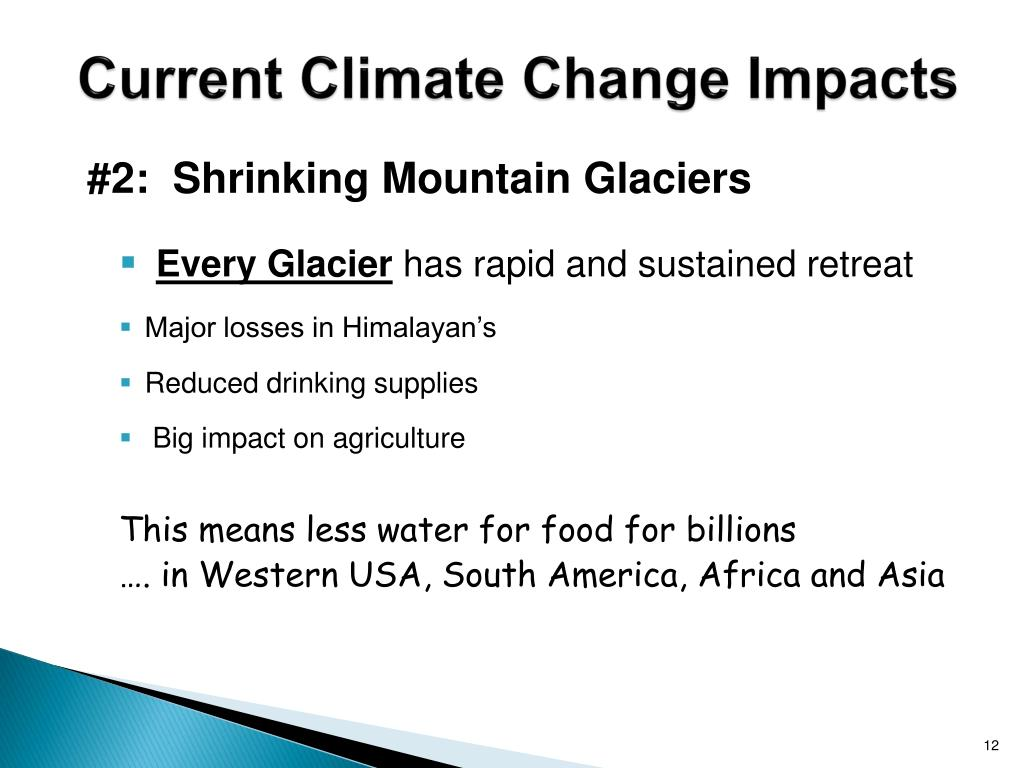 Current Climate Change Impacts