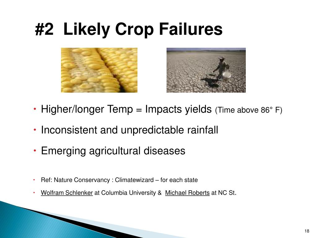 #2  Likely Crop Failures