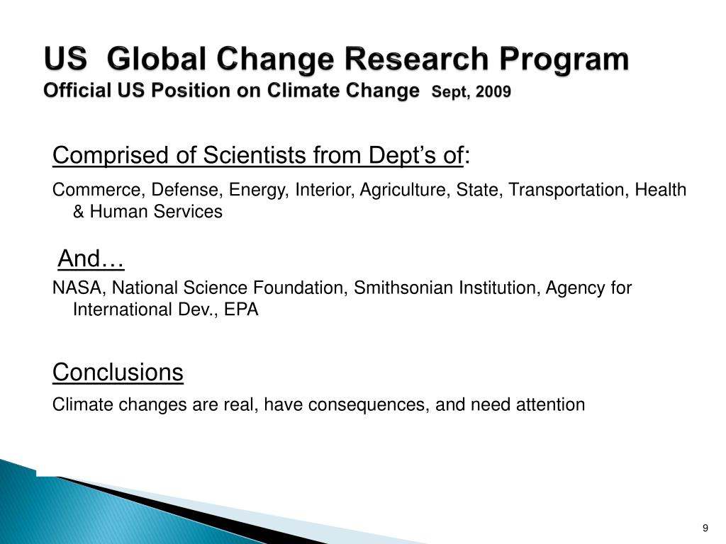 US  Global Change Research Program