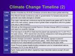 climate change timeline 2